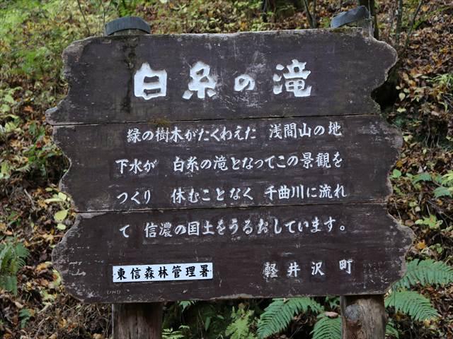 白糸の滝紅葉