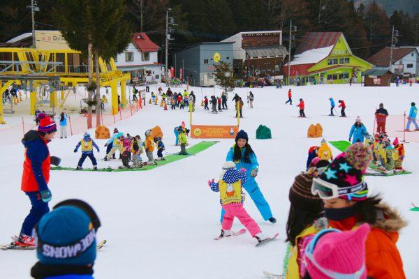 群馬県スキー場 かたしな高原