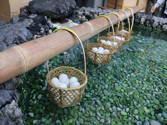 草津温泉温泉卵