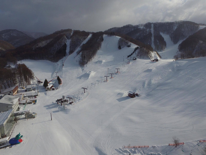 群馬県スキー場 尾瀬戸倉