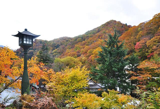 宝川温泉紅葉