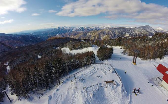 群馬スキー場 展望