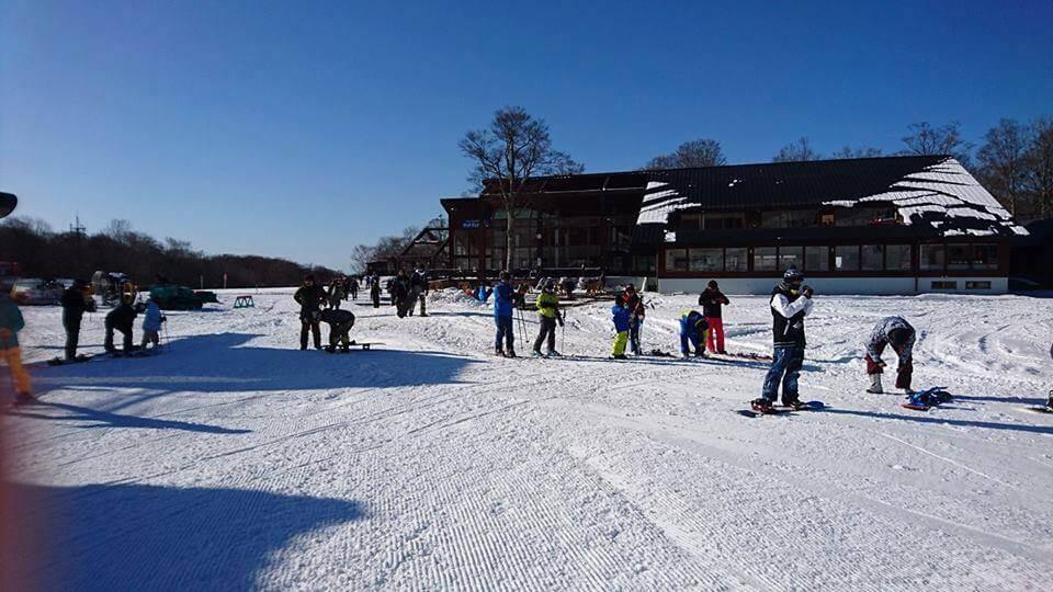 初滑りたんばらスキーパーク