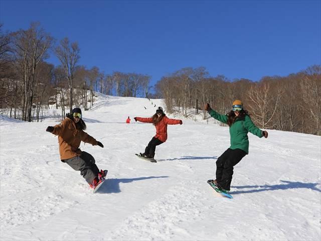 たんばらスキーパークお勧めコース