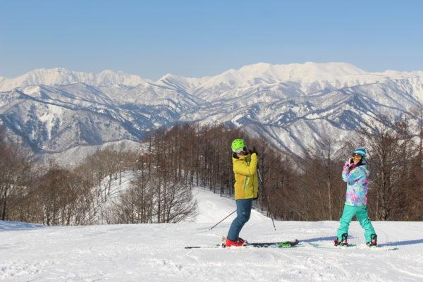 水上高原スキーリゾート スキーヤー