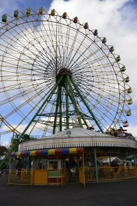 大観覧車ひまわり 華蔵寺公園遊園地 ハロウィン
