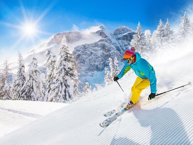群馬 春スキー スノーボード ゲレンデ