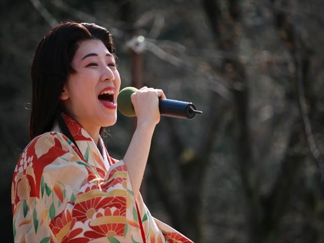 小幡さくら祭りyoshimiLIVE