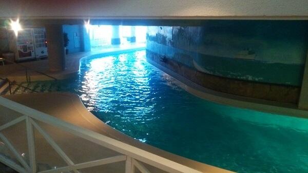 カリビアンビーチ 流れるプール