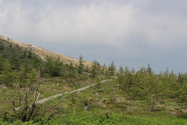 湯釜 草津白根山