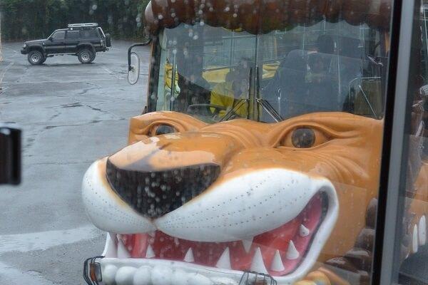 エサやりバス 群馬サファリパーク