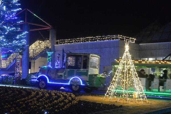 ぐんまフラワーパーク イルミネーション 日本夜景遺産 群馬県前橋市