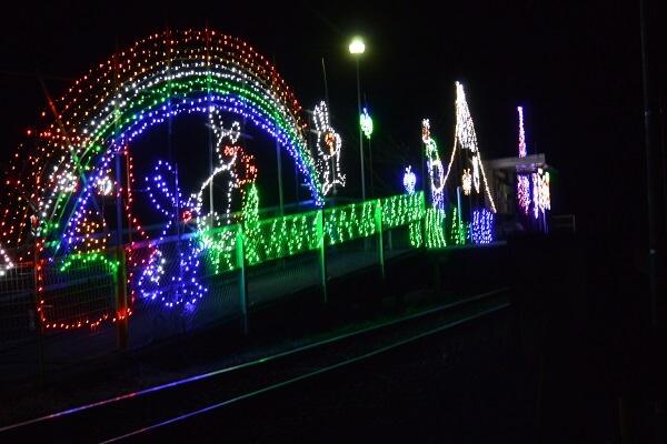 中野駅のイルミネーション2