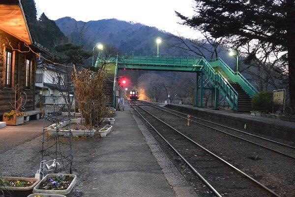 わたらせ渓谷鐵道 イルミネーション トロッコ