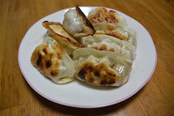 手作り 納豆餃子