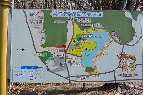 岩宿博物館 案内図