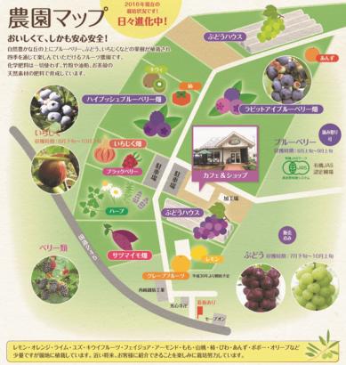 農園マップ フルーツオンザヒル 高崎 フルーツアイスバー