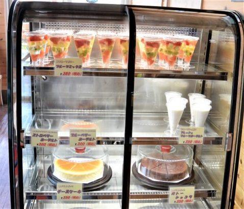 ジュースやヨーグルト、スムージーも販売 フルーツオンザヒル 高崎 フルーツアイスバー