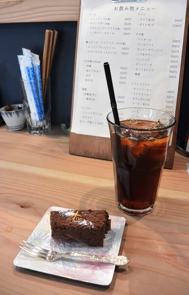 椿食堂 ケーキ
