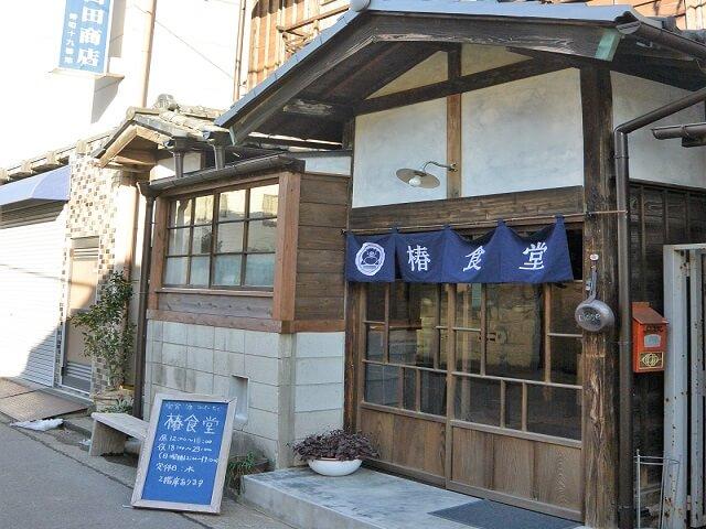 椿食道外観 高崎市 かき氷店日本一