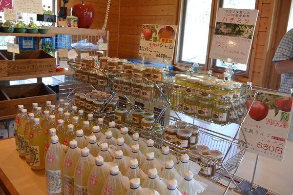 阿部りんご園 商品