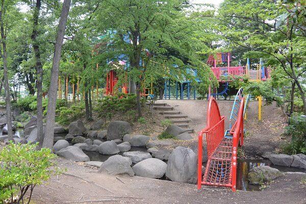 浜川運動公園 アスレチック