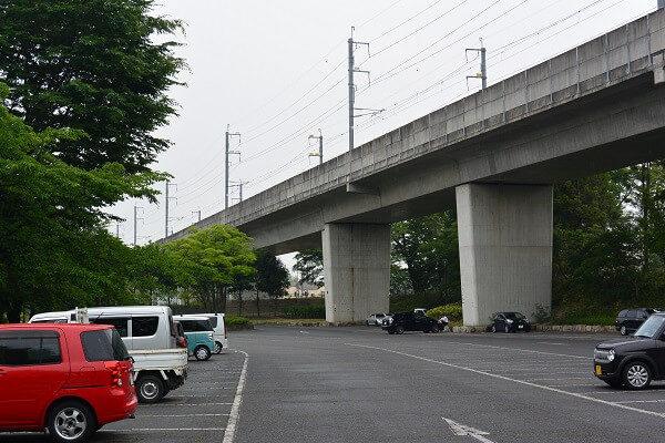 浜川運動公園 駐車場