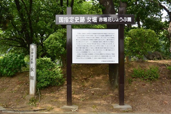 赤堀花しょうぶ園 国指定史跡