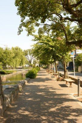 太陽の鐘 広瀬川湖畔