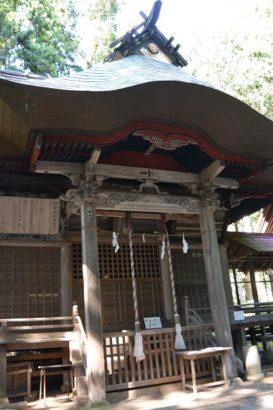 道の駅霊山たけやま 新都神社