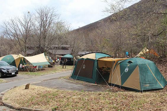 休暇村嬬恋鹿沢キャンプ場 群馬 オートキャンプ