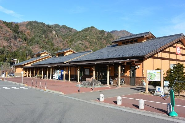 道の駅あがつま峡 外観