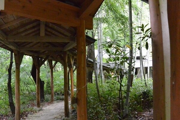 清流荘 庭園