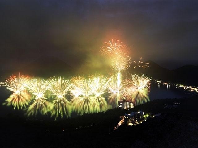 烏川公園 花火