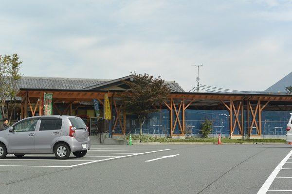 道の駅ふじみ 駐車場