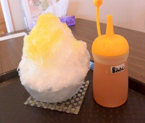カフェJOBU 天然氷 プレミアムかき氷 かき氷店