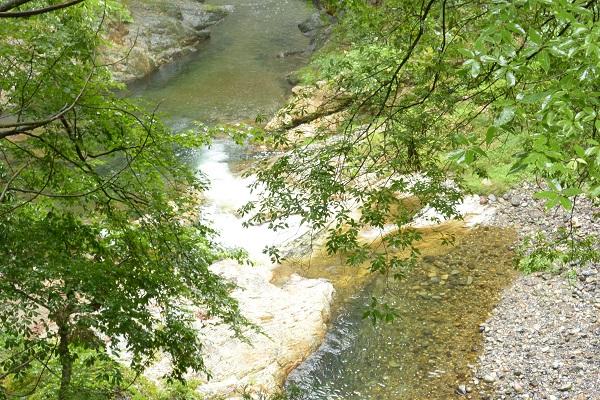 南牧村 蝉の渓谷