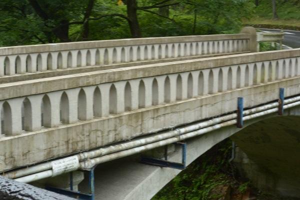 蝉の渓谷 橋