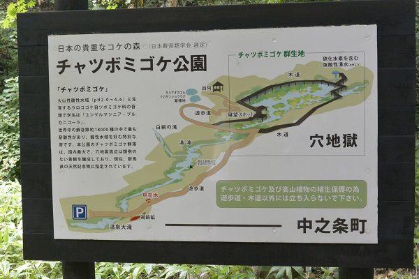 チャツボミゴケ公園 地図
