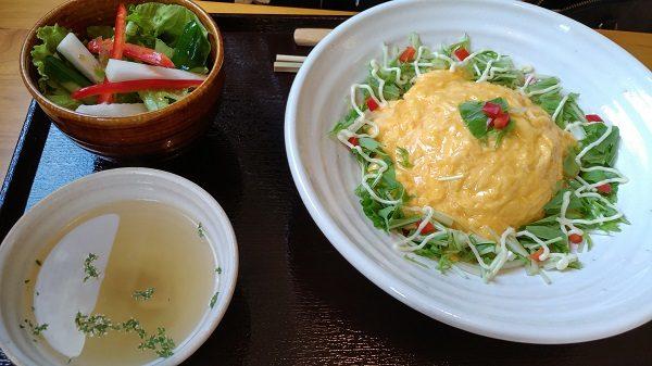 町家カフェ太郎茶屋鎌倉 オムライスランチ