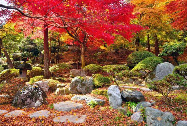 明徳園の紅葉 紅葉スポット おすすめ 群馬