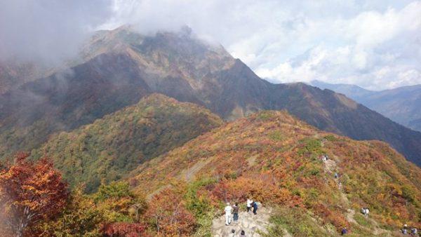 谷川岳の紅葉 紅葉スポット おすすめ 群馬