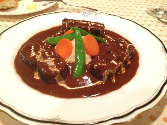 ビーフシチュー 群馬 夜景 レストラン