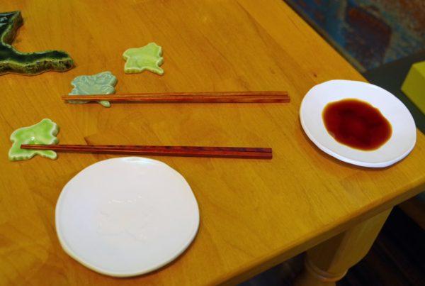 ぐんま箸置き 盛皿