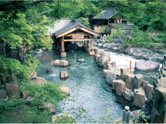 みなかみユネスコエコパーク 自然 温泉