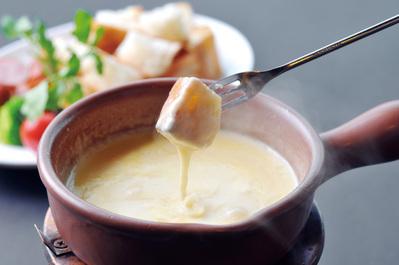 チーズフォンデュ 群馬 夜景 レストラン