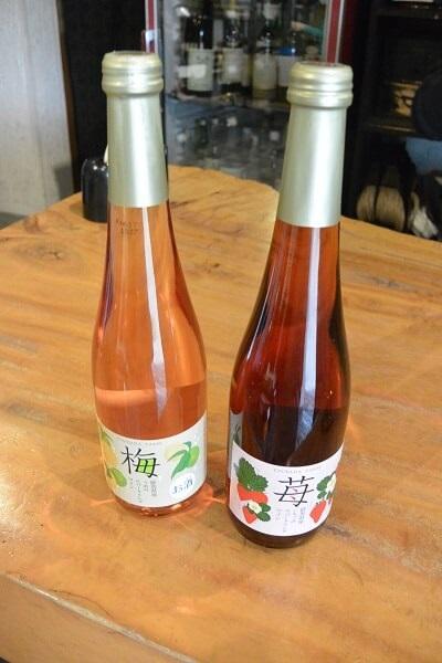 いちごと梅のスパークリングワイン 塚田農園