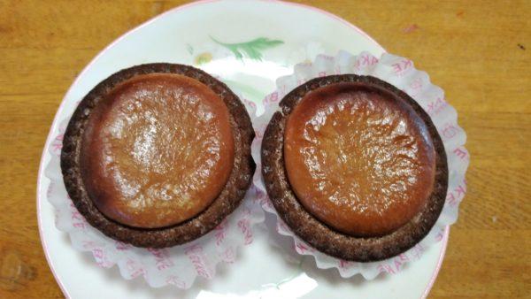 BAKE CHEESE TART 焼きたてチョコチーズタルト