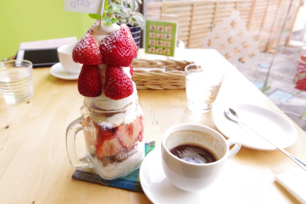 パフェ コーヒー