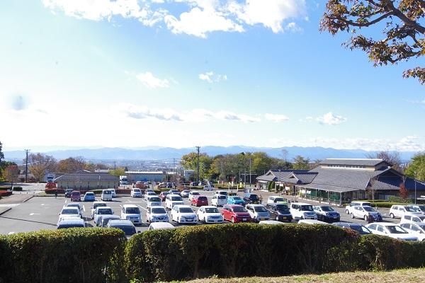 赤城の恵 駐車場